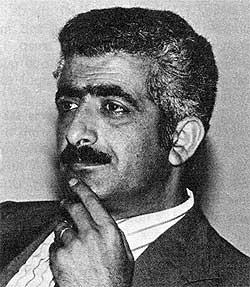 Mr. Sulaiman Al-Najjab, West Bank political leader