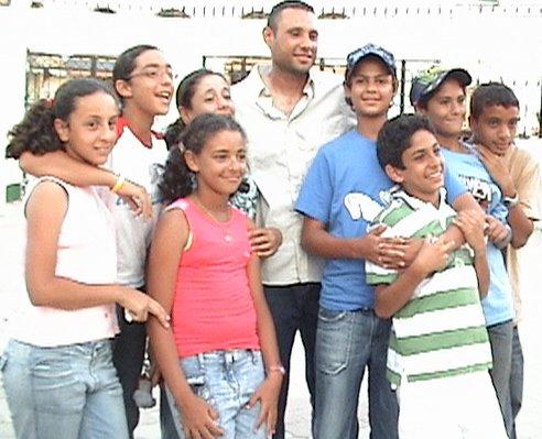 ITF/CAT 13 & under Circuit 2006 (TUNISIA) Team with Egyptian Coach Mohamed Ramdan Wafa