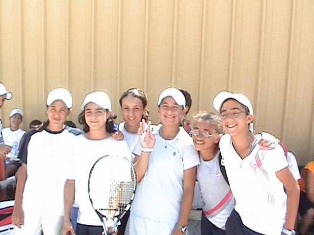 Egyptian Girls Team in ITF/CAT 13 & Under Circiut 2006