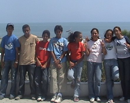 Egyptian National Team in ITF/CAT 13 & under Circuit 2006 (TUNISIA)