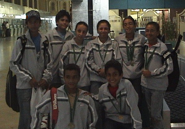 Egyptian National Team in ITF/CAT 13 & under Circuit 2006 (TUNISIA AIRPORT)