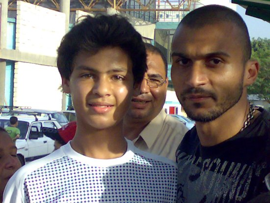 With Ahly, Zamalek & National Team Star Ibrahim Said